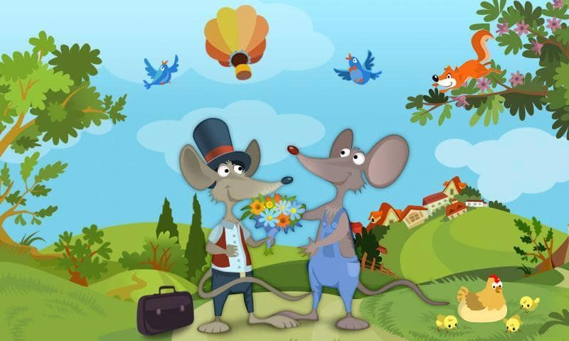 audio story: the town mouse and the country mouse1 Audio story: The Town Mouse and the Mouse Country